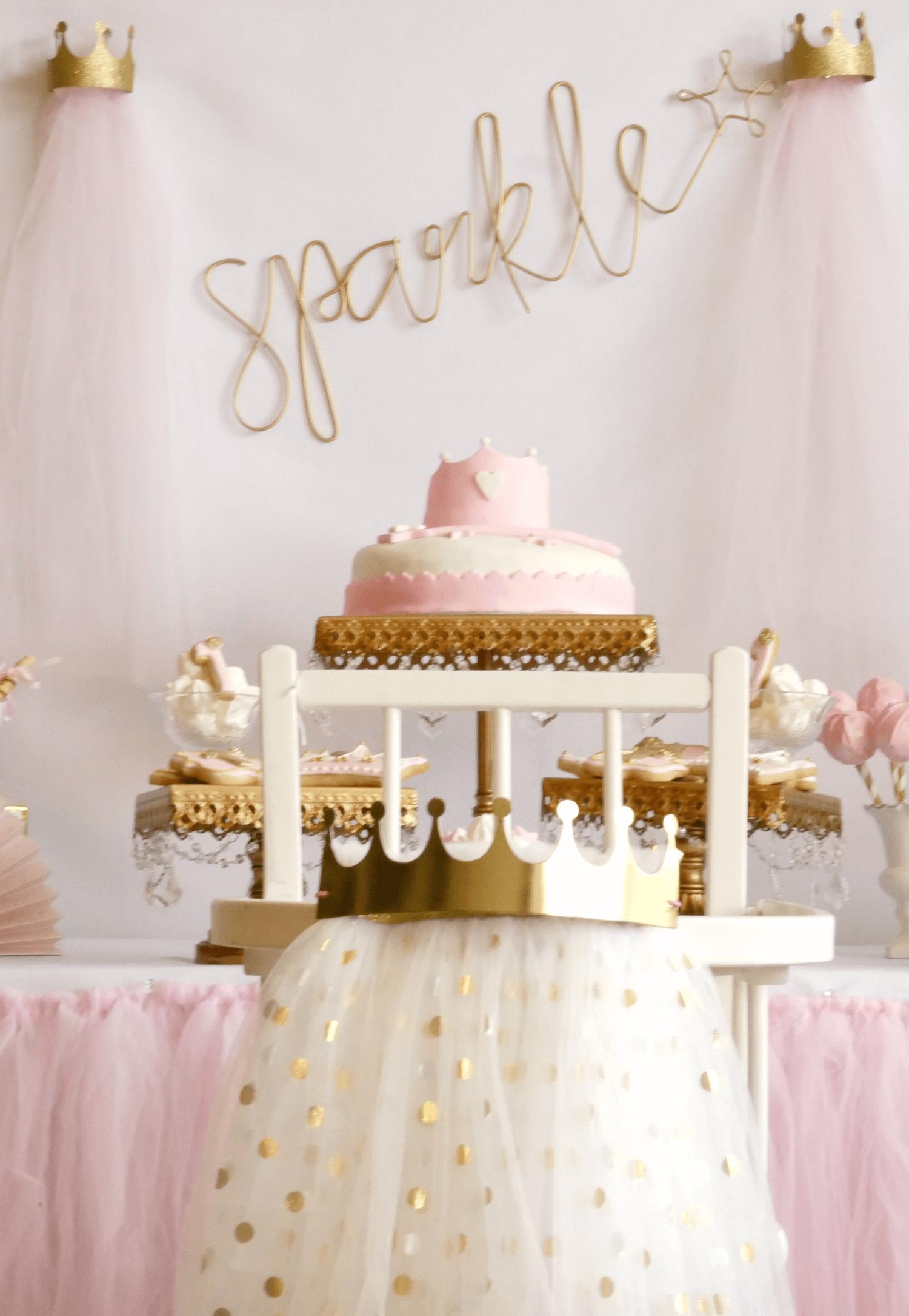 fotografia decoracion fiesta de princesa
